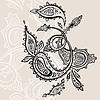 Vector clipart: Paisley ornament
