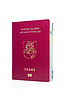 Photo 300 DPI: Lithuanian passport