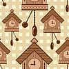 Vector clipart: clock seamless