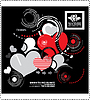 Vector clipart: Creative hearts