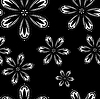 Vector clipart: floral seamless background