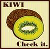 Vector clipart: kiwi