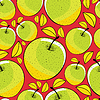 Vector clipart: apple seamless