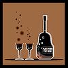 Vector clipart: bottles