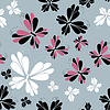 Vector clipart: butterfly - seamless pattern