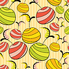 Vector clipart: Fruits seamless