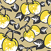 quince - seamless pattern