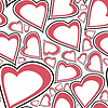 Vector clipart: Valentine day - seamless pattern
