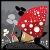 Vector clipart: mushroom