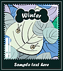 Vector clipart: Winter season