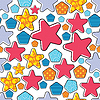 Vector clipart: Colorful decorative pattern - seamless