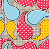 Vector clipart: Decorative seamless pattern