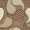 Vector clipart: Decorative seamless