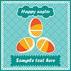 Vector clipart: Easter postcard