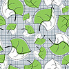 Vector clipart: leaves - seamless pattern
