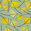 Vector clipart: Decorative colorful Leaves - seamless pattern