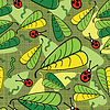 Vector clipart: Spring seamless pattern