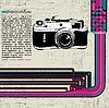 레트로 카메라 | Stock Vector Graphics