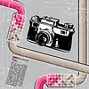 Grunge retro camera | Stock Vector Graphics