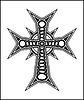 Векторный клипарт: Крест