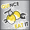 Vector clipart: quince