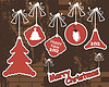 Vector clipart: New year elements