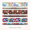 Vector clipart: Set colorful autumn cards