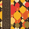 Векторный клипарт: Карточка с красочными декоративными элементами