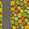 Vector clipart: Card with colorful leaves