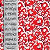 Векторный клипарт: День святого Валентина - открытка