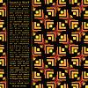 Векторный клипарт: Карточка с декоративными элементами