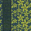 Векторный клипарт: Карточка с красочными цветами
