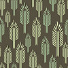 Vector clipart: Trees - seamless pattern