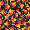 Векторный клипарт: Осенние листья - бесшовный фон