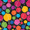 Vector clipart: Autumn leaves - seamless pattern