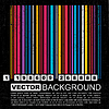 Vector clipart: Grunge colorful barcode background