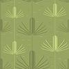 Векторный клипарт: зеленый бесшовный фон