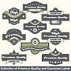 Premium-Qualität und Garantie-Label Kollektion