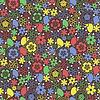 Floral bez szwu   Stock Vector Graphics