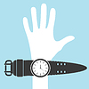 Hand and watches