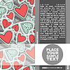Vector clipart: Valentines Day card