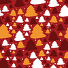 Vector clipart: New year - seamless pattern