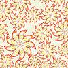 Vector clipart: Flower seamless pattern