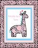 Vector clipart: Safari Giraffe Illustration