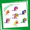 Vector clipart: Colorful monster