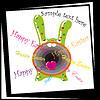 Vector clipart: cute Easter bunny