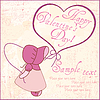Vector clipart: Valentine Greeting Card