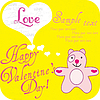 The card for Valentine's Day | Stock Vector Graphics