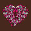Vector clipart: Decorative heart