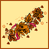 Vector clipart: Floral element of ornament